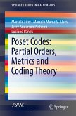 Poset Codes: Partial Orders, Metrics and Coding Theory (eBook, PDF)