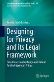 Designing for Privacy and its Legal Framework (eBook, PDF)