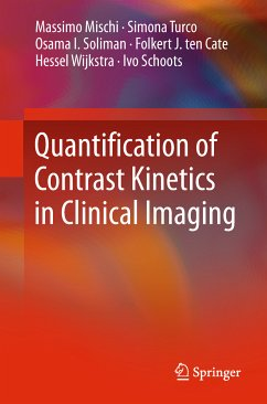 Quantification of Contrast Kinetics in Clinical Imaging (eBook, PDF) - Mischi, Massimo; Turco, Simona; Soliman, Osama I.; ten Cate, Folkert J.; Wijkstra, Hessel; Schoots, Ivo