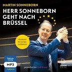 Herr Sonneborn geht nach Brüssel: Abenteuer im Europaparlament, 1 MP3-CD