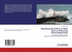 Modeling the Effect of Ribb Dam in Reducing Flood Magnitude