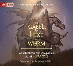 Die Gabel, die Hexe und der Wurm. Geschichten aus Alagaësia / Eragon-Saga Bd.1 (6 Audio-CDs) - Paolini, Christopher