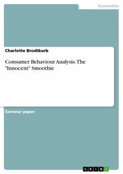 Consumer Behaviour Analysis. The
