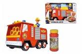 Simba 109252294 - Feuerwehrmann Sam Seifenlasen Jupiter, Fahrzeug