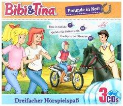 Bibi & Tina - Freunde in Not, 3 Audio-CD