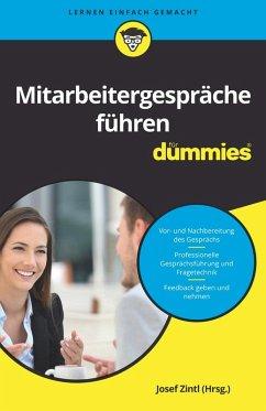 Mitarbeitergespräche führen für Dummies (eBook, ePUB) - Schoeller, Nicoletta; Zintl, Josef; Schlich, Clemens; Dehe, Dörthe; Kopp, Theresa; Junk, Judith