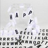 Lichterkette, Letterbox mit 70 auswechselbaren Buchstaben und Zeichen