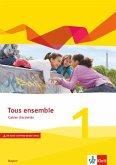 Tous ensemble 1. Ausgabe Bayern. Cahier d'activités mit Audio und Video online 1. Lernjahr