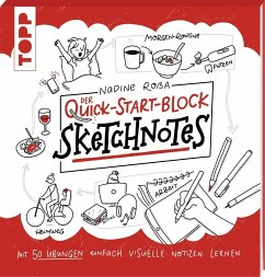 Sketchnotes. Der Quick-Start-Block - Roßa, Nadine