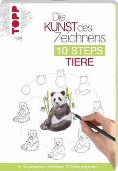 Die Kunst des Zeichnens 10 Steps - Tiere - Kilgour, Heather