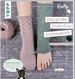 Das große CraSyTrio-Sockenbuch - Rasch, Sylvie