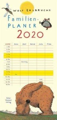 Wolf Erlbruchs Familienplaner 2020 - Erlbruch, Wolf