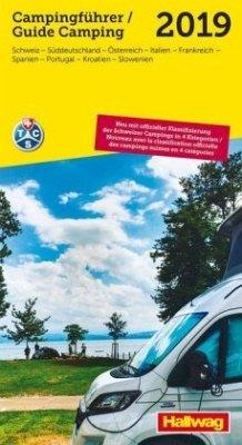 TCS Schweiz & Europa Campingführer 2019