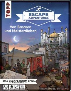 Escape Adventures - Von Basaren und Meisterdieben - Frenzel, Sebastian; Zimpfer, Simon