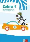Zebra 1. Buchstabenheft Plus in Grundschrift Klasse 1