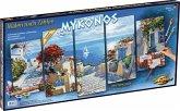 Schipper 609450797 - Mykonos, Malen nach Zahlen Polyptychon