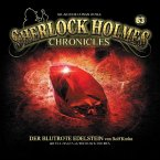 Sherlock Holmes Chronicles - Der blutrote Edelstein, 1 Audio-CD