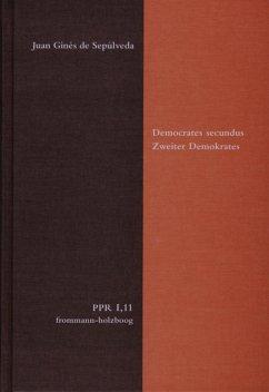 Democrates secundus. Zweiter Demokrates (eBook, PDF) - de Sepúlveda, Juan Ginés