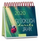 Glücklich durchs Jahr, Miniwochenkalender 2020