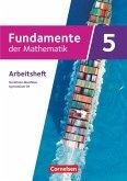 Fundamente der Mathematik 5. Schuljahr - Nordrhein-Westfalen - Gymnasium G9 - Arbeitsheft mit Lösungen