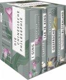 Die chinesische Philosophie (Vier Bände in Schmuckschuber)