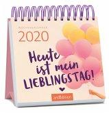 Miniwochenkalender Heute ist mein Lieblingstag 2020 - kleiner Aufstellkalender mit Wochenkalendarium