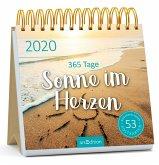 Postkartenkalender 365 Tage Sonne im Herzen 2020 - Wochenkalender mit abtrennbaren Postkarten