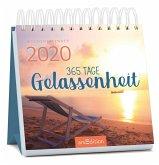 Miniwochenkalender 365 Tage Gelassenheit 2020 - kleiner Aufstellkalender mit Wochenkalendarium