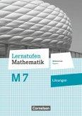 Lernstufen Mathematik - 7. Jahrgangsstufe - Mittelschule Bayern - Lösungen zum Schülerbuch