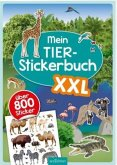 Mein Tier-Stickerbuch XXL