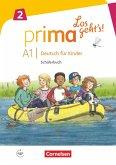 Prima - Los geht's! Band 2 - Schülerbuch mit Audios online
