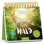 Träume vom Wald Postkartenkalender 2020 - Wochenkalender mit abtrennbaren Postkarten