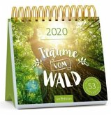 Postkartenkalender Träume vom Wald 2020 - Wochenkalender mit abtrennbaren Postkarten