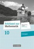 Schlüssel zur Mathematik 10. Schuljahr - Differenzierende Ausgabe Rheinland-Pfalz - Lösungen zum Schülerbuch