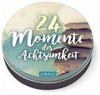 24 Momente der Achtsamkeit - Ein Adventskalender in der Dose mit 24 Anti-Stress-Kärtchen für den Advent