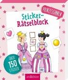 Sticker-Rätselblock Prinzessinnen