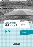 Lernstufen Mathematik 7. Jahrgangsstufe - Mittelschule Bayern - Lösungen zum Schülerbuch