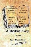 A Thailand Diary: Volume 1 (eBook, ePUB)