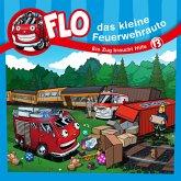 Ein Zug braucht Hilfe - Flo, das kleine Feuerwehrauto (13) (MP3-Download)