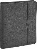 Wenger Affiliate Schreibmappe A4 mit 10 Tabletfach grau