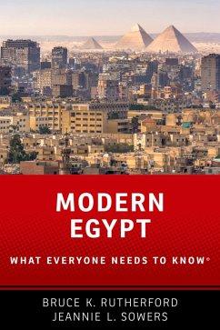 Modern Egypt (eBook, PDF) - Sowers, Jeannie; Rutherford, Bruce K.