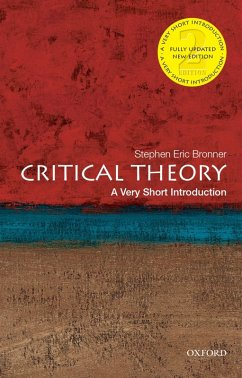 Critical Theory: A Very Short Introduction (eBook, PDF) - Bronner, Stephen Eric