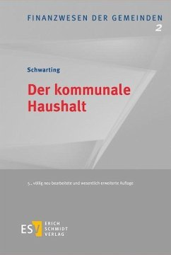 Der kommunale Haushalt - Schwarting, Gunnar
