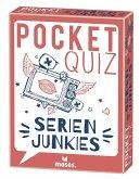 Moses MOS00057 - Pocket Quiz, Serienjunker, Fragespiel, Mitbringspiel, Reisespiel