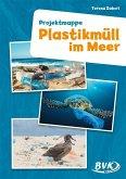 Plastikmüll im Meer. Projektmappe