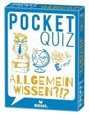 Moses MOS00019 - Poket Quiz, Allgemeinwissen?!?!, Fragespiel, Mitbringspiel, Reisespiel