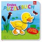 Erstes Puzzlebuch Ente