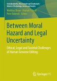 Between Moral Hazard and Legal Uncertainty (eBook, PDF)