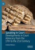 Speaking in Court