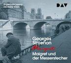 Maigret und der Messerstecher, 4 Audio-CDs